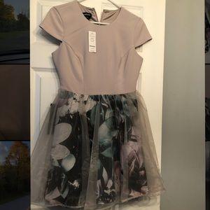 BeBe Magnolia #2 mini dress